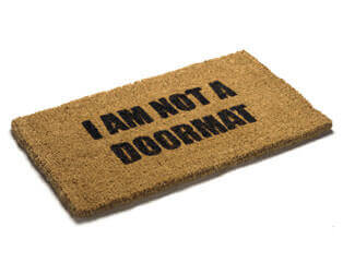 doormat in relationships